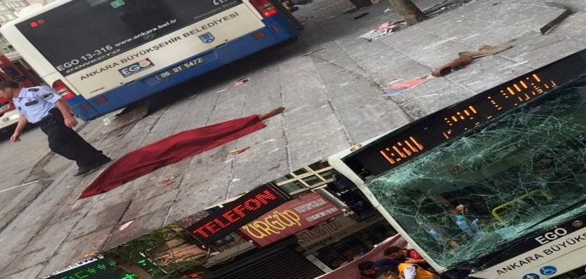 Ankara'daki Korkunç Otobüs Kazasına Tanık Olanlar Dehşet Anlarını Anlattı
