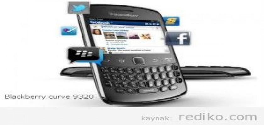 Avea Blackberry Curve 9320 (Özellikleri, Fiyatı)
