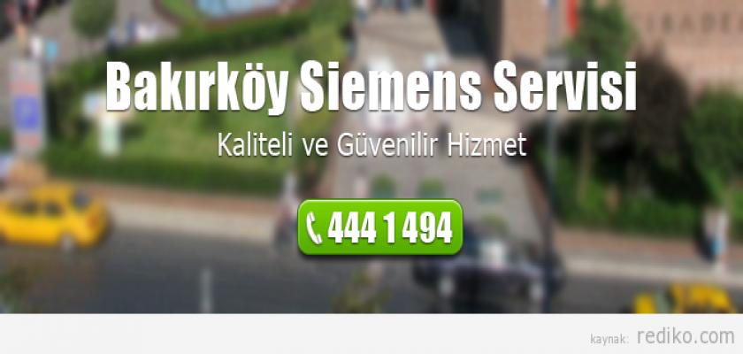 Bakırköy Siemens Servisi