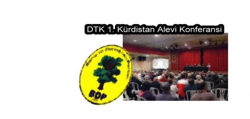 DTK 1. Kürdistan Alevi Konferansı, BDP'lilerin katıldığı cem töreniyle son buldu