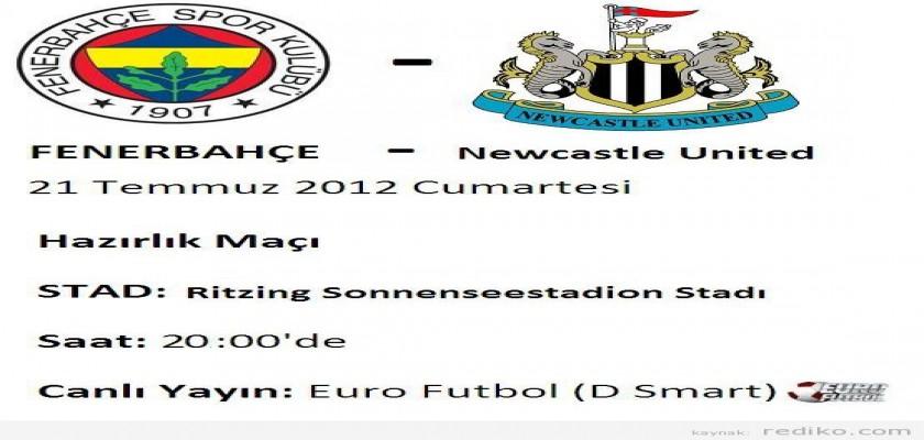 21 Temmuz 2012 Fenerbahçe – Newcastle United