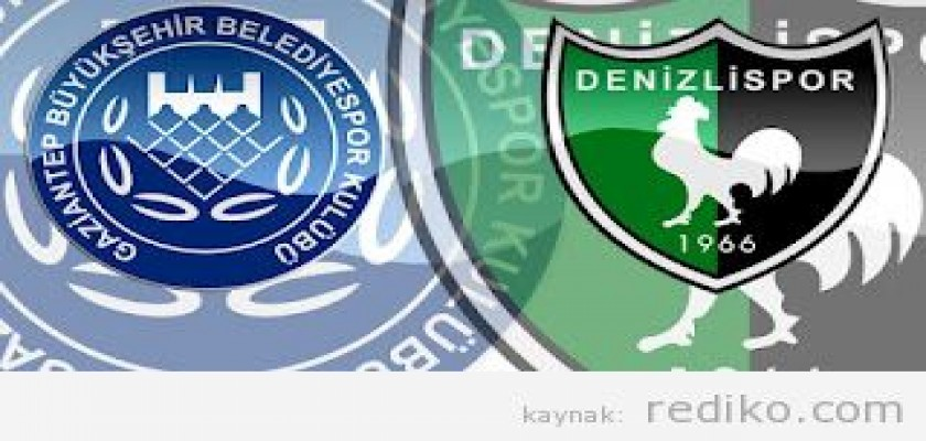 Gaziantep 0 - 1 BB Denizlispor Maçı (3 Eylül 2012) Maç Bitti