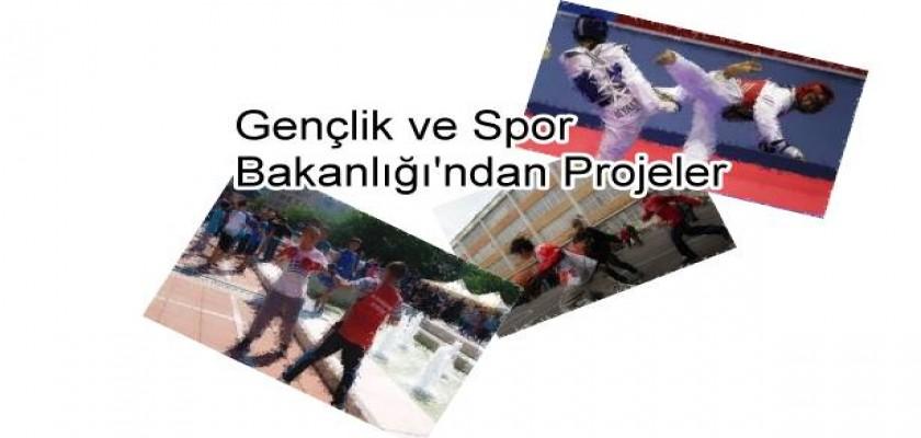 Gençlik ve Spor Bakanlığı'ndan projeler