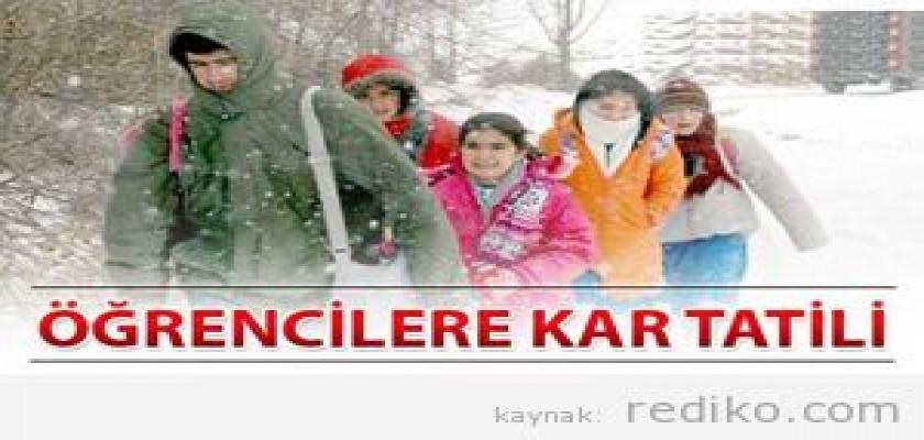 29 Şubat 2012 Okulların Tatil Olduğu İller